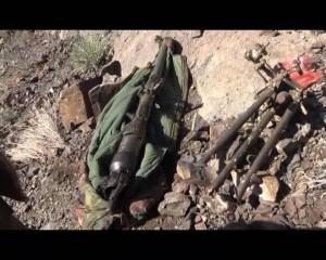 بالصور.. الجيش واللجان يضبان كميات كبيرة من الأسلحة بدمت كانت في حوزة مرتزقة العدوان