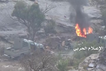 قصف عدد من المواقع العسكرية السعودية ومقتل وجرح وأسرعدد من مرتزقة العدوان((تفاصيل))