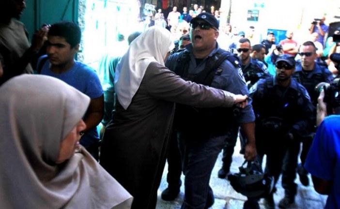 مواجهات بالقدس المحتلة إثر قمع الاحتلال وقفة لاسترداد الشهداء