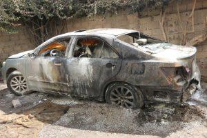 شاهد : آثار الدمار الذي خلفته القنابل العنقودية التي انفجرت في عدد من الاحياء السكنية بصنعاء ((صور))