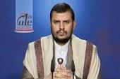 قال أن أمريكا محظوظة بعميل كالسعودية.. السيد عبدالملك الحوثي يحث على وحدة الموقف ويرد على المزايدين: نحن في طليعة شعبنا ثباتا وتضحية