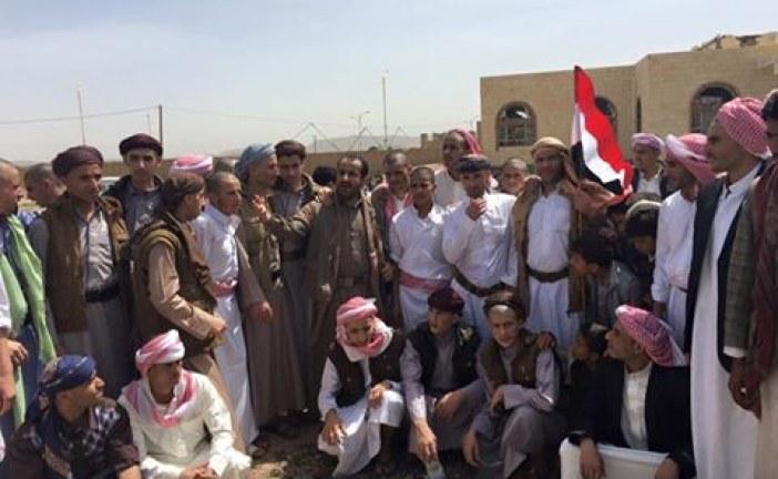 شاهد.. صورة لأبطال الجيش واللجان الشعبية المحررين من الأسر