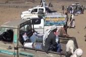 صنعاء || أبناء عزلة بني سوار وبيت القرماني ببني مطر يسيرون قافلة دعما للجيش واللجان الشعبية