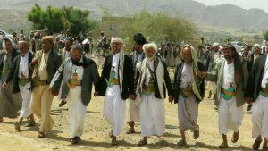 عمران .. قبائل حاشد تعلن النفير العام لمواجهة العدوان ودحر الاحتلال الأجنبي