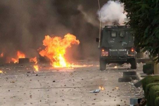 إصابة طفل فلسطيني وحملة اعتقالات بالضفة الغربية وغزة
