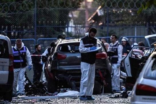 انتحاريان يفجران نفسيهما بتركيا