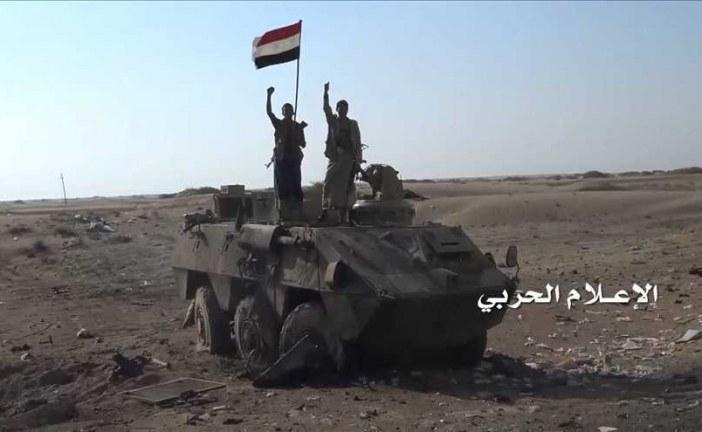 هجوم سعودي كبير  على موقع الشرفة العسكري الجيش واللجان الشعبية يتصدون له
