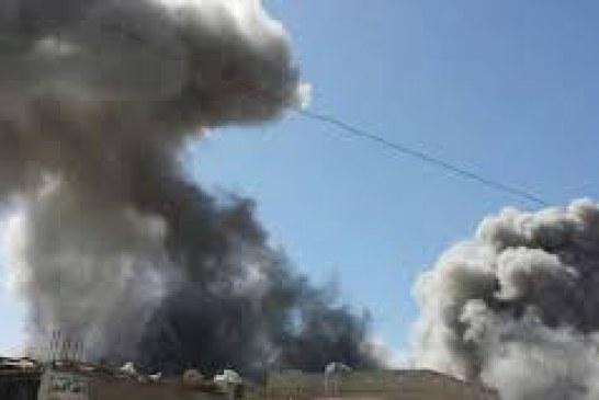 طيران العدوان السعودي يواصل جرائمه البشعة في عدد من المحافظات