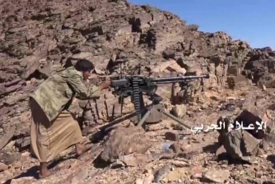 الجيش واللجان يطهرون عدد من المواقع في الأطراف الغربية لمديرية الحزم بالجوف
