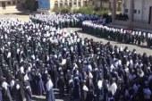 المحويت .. وقفات إحتجاجية بعدد من المدارس تنديداً بإستمرار العدوان والحصار