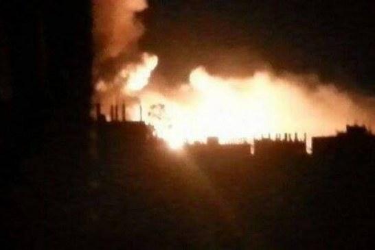 الحديدة : طيران العدوان يشن أربع غارات على منطقة كيلو 16