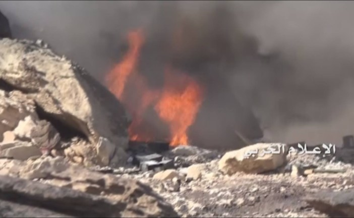 شاهد  .. صور موقع السفينة العسكري السعودي في عسير بعد إكمال السيطرة عليه