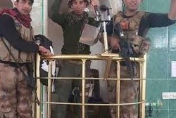 تحرير الجامع الذي ظهر فيه البغدادي بالموصل