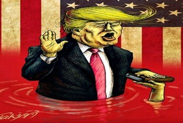 كاريكاتير.. ترامب يتولى مهامه !