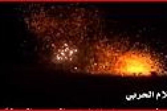 فيديو : لحظة سقوط صاروخ قاهر 2M الباليستي وإصابة هدفه بدقة عالية أثناء تجربة ناجحة