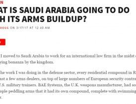 ماذا ستفعل السعودية بترسانتها العسكرية الضخمة؟ ( مترجم  )