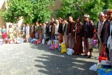 الإفراج عن 42 من المغرر بهم بالعاصمة صنعاء