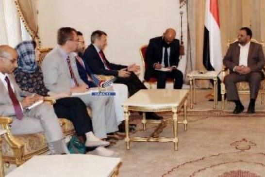 رئيس المجلس السياسي الأعلى يستقبل رئيس اللجنة الدولية للصليب الأحمر