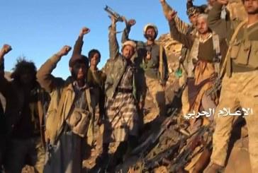 ألبوم صور   كسر زحف للمرتزقة ومقتل العشرات واغتنام أسلحتهم في جبهة نهم