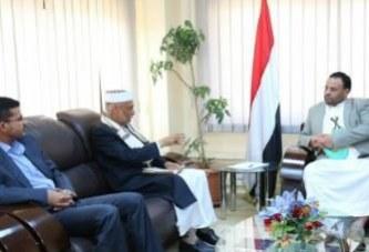 الرئيس الصماد يلتقي رئيس مجلس القضاء والنائب العام