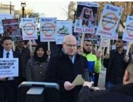 إحتجاجات بريطانيا ضد زيارة ابن سلمان الأسباب والدلالات