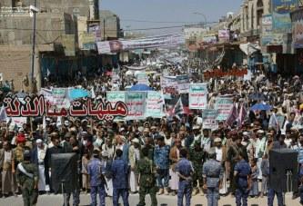 مسيرة جماهيرية حاشدة بصعدة إحياء لذكرى استشهاد الإمام الحسين