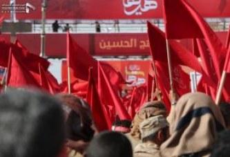 بالصور .. مسيرة جماهيرية حاشدة صنعاء إحياء لذكرى عاشوراء